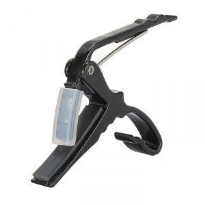 Buy Gadget Hero's Prince Quick Change Capo Clamp For Electric & Acoustic Guitar Tirgger Key online