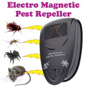 Buy Gadget Hero's Ultrasonic Electro Magnetic Pest Repellent online