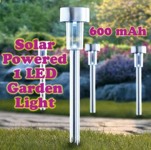 Buy Gadget Hero's Solar Powered Rechargeable LED Flowerbed Garden Lawn Walkway online