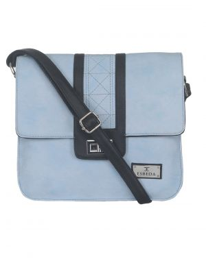 Buy Esbeda Ladies Slingbag L-blue/ Black Color (mz270716_1459) online