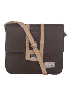 Buy Esbeda Ladies Slingbag Brown/beige Color (mz270716_1460) online