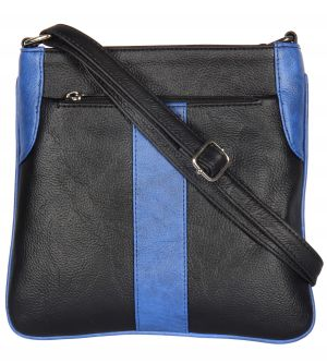 Buy Esbeda Black Color Pu Synthetic Slingbag For Womens online
