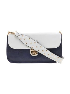 Buy Esbeda Dark Blue Solid Pu Synthetic Material Slingbag For Women online
