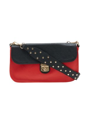 Buy Esbeda Red Solid Pu Synthetic Material Slingbag For Women online