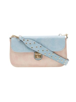 Buy Esbeda Light Pink Solid Pu Synthetic Material Slingbag For Women online