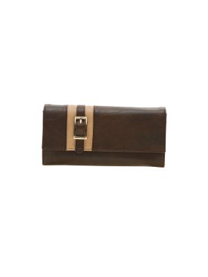 Buy Esbeda Brown Solid Pu Synthetic Material Wallet For Women-1964 (code - 1964) online