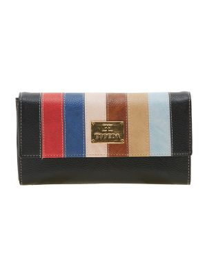 Buy Esbeda Black Solid Pu Synthetic Material Wallet For Women-1972 (code - 1972) online