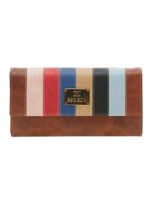 Buy Esbeda Brown Solid Pu Synthetic Material Wallet For Women-1973 (code - 1973) online