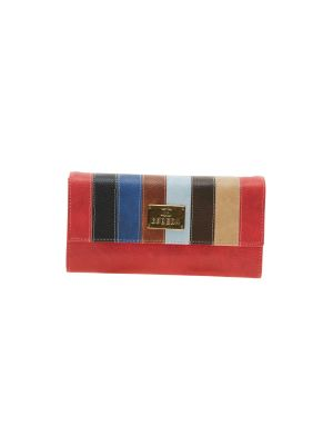 Buy Esbeda Red Solid Pu Synthetic Material Wallet For Women-1979 (code - 1979) online