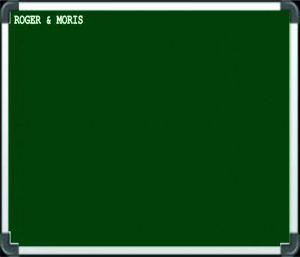 Buy Roger And Moris Chalk Board (2 Feet X 2 Feet) online