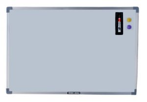 Buy Roger And Moris Magnetic White Board Combo (2 Feet X 1 Feet) online