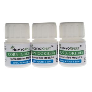 Buy Homyoxpert Corn (Gokhru) Homeopathic Medicine For One Month online