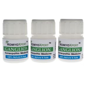 Buy Homyoxpert Ganglion Homeopathic Medicine For One Month online