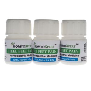 Buy Homyoxpert Heel Feet Pain Homeopathic Medicine For One Month online
