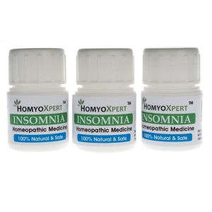 Buy Homyoxpert Insomnia Homeopathic Medicine For One Month online
