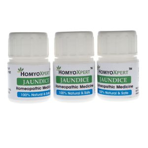 Buy Homyoxpert Jaundice Medicine Homeopathic Medicine For One Month online