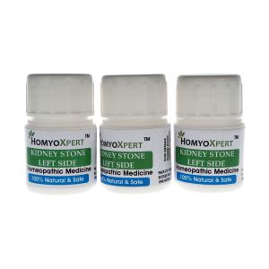Buy Homyoxpert Left Kidney Stone Homeopathic Medicine For One Month online