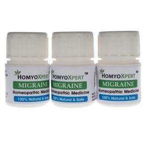 Buy Homyoxpert Migraine Homeopathic Medicine For One Month online