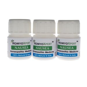 Buy Homyoxpert Nausea Homeopathic Medicine For One Month online