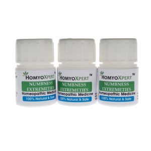 Buy Homyoxpert Numbness Extremeties Homeopathic Medicine For One Month online