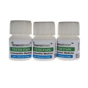 Buy Homyoxpert Tooth Pain Homeopathic Medicine For One Month online