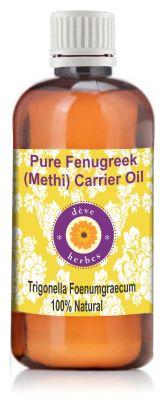 Buy Pure Fenugreek(methi) Carrier Oil 100ml (trigonella Foenumgraecum) online