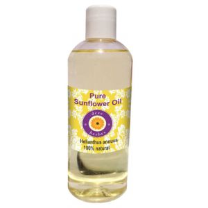 Buy Pure Sunflower Oil 200ml (helianthusannuus) 100% Natural Cold Pressed Therapeutic Grade online