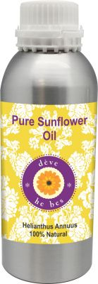 Buy Pure Sunflower Oil 630ml (helianthusannuus) 100% Natural Cold Pressed online