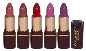 Buy Viviana Lipsticks Valentine Pack of 5 from Rediff at just Rs 599