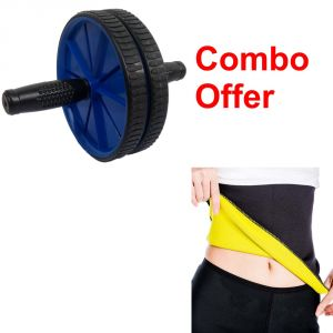Buy Deemark Combo Of Ab Rollar With Hot Shepar-l online
