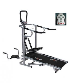 Buy Deemark Ez Track 4 In 1 Manual Treadmill online