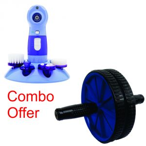 Buy Deemark Combo Of Power Perfect Pore With Ab Rollar online