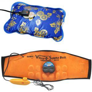 Buy Deemark Combo Of Warm Bag With Sauna Belt online