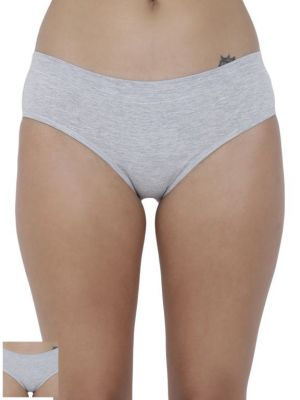 Buy Basiics By La Intimo Women's Coqueto Flirty Hipster Panty (Combo Pack of 2 ) online