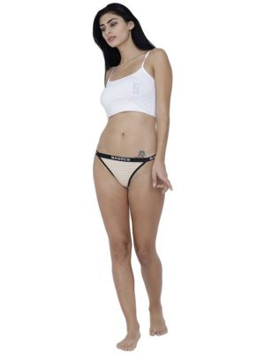 Buy Skin Basiics By La Intimo Women's Caliente Hot Thong Panty online