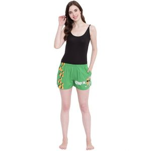 Buy La Intimo Juicy Mango Green shorts online