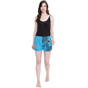 Buy La Intimo Get Ready Royal Blue shorts online