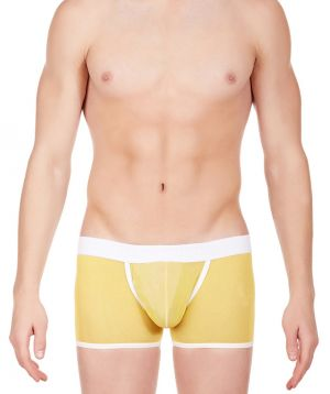 Buy La Intimo - Power Net Boxer Yellow For Men - Libo002ywz online
