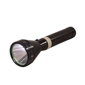 Buy Gor Sun Invigilator Series 600m 3 Mode Rechargeable LED Flashlight 8.6 Inch Torch online