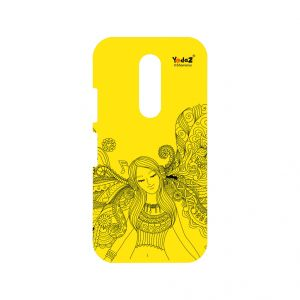 Buy Yedaz Mobile Back Cover For MOTO M online