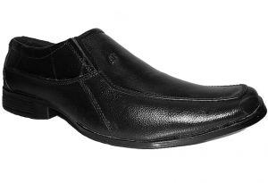 "Rider""s Pure Leather Formal Shoes For Men, Black_FORMALSHOE-002"