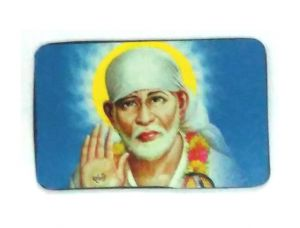 Buy Shirdi Sai Baba In High Quality Magnetic Sticker online