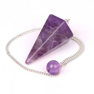 Buy Amethyst Crystal Conical Shape Dowser ( Crystal Healing ) online