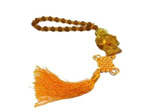 Buy Laughing Buddha Car / Home Synthetic Amber Hanging online