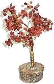 Buy Carnelian Gems Tree Carnelian Chips /stone Fengshui Tree Healing Tree online