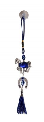 Buy Evil Eye Horse And Horse Shoe Hanging For Good Luck And Prosperity Horse Zodiac online