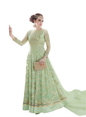 Buy De Marca Pista Colour Semi Stitched Georgette Dress Material online