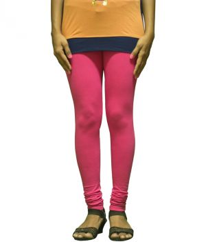 Buy Stylish And Comfortable Cotton / Lycra Blend Leggings online