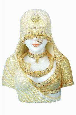 Buy Chitrahandicraft Marble Banithani Statuese online