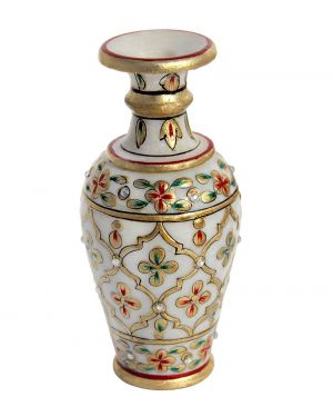 Buy Marble Flower Vase from Rajasthan online
